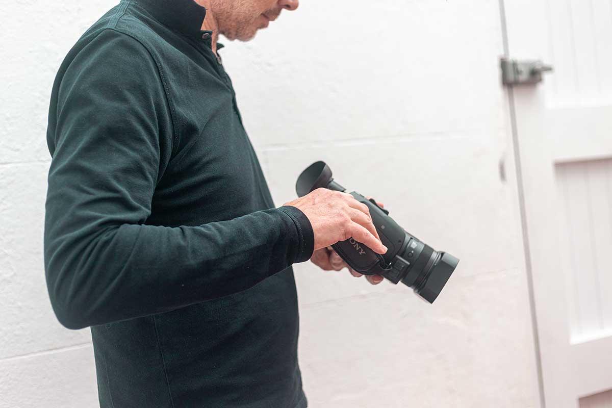 Rod Taking Photos