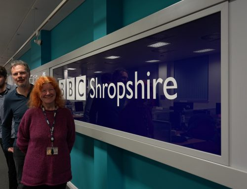 Live on BBC Radio Shropshire